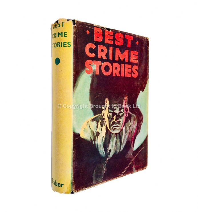 Best Crime Stories Agatha Christie Edgar Wallace Early Reprint Faber 1948